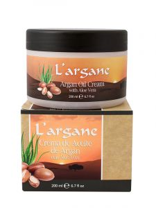 Argan Oil Cream with Aloe Vera - 200 ml