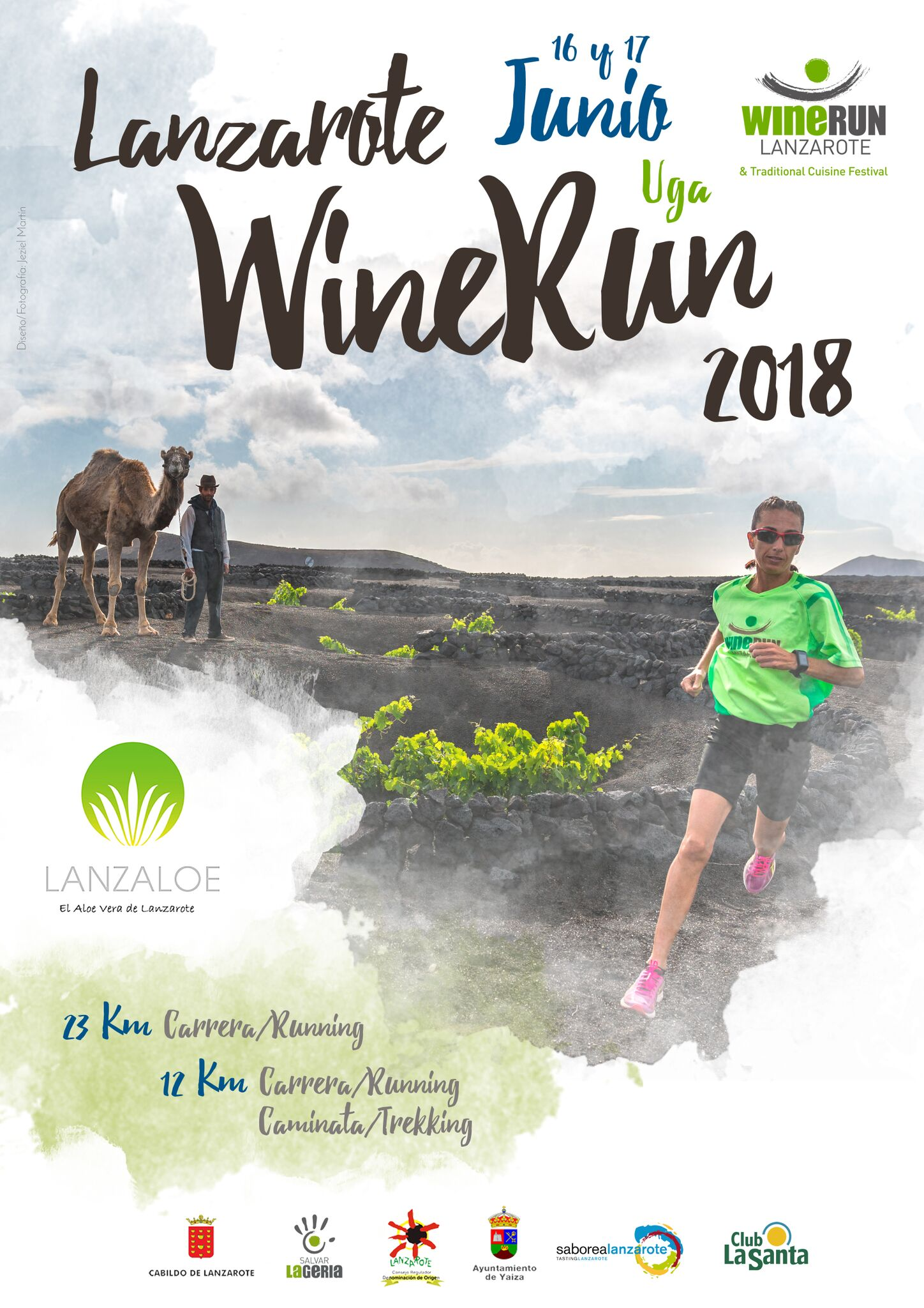 Lanzaloe will be one of the sponsors of the Wine Run race