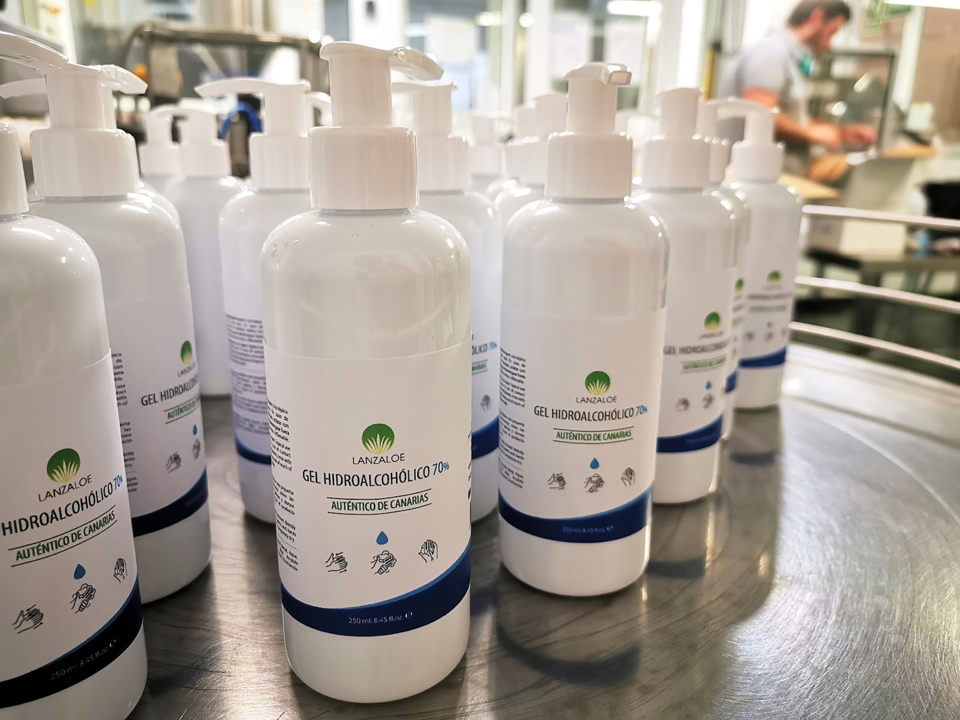 Together against Coronavirus in the manufacture of Hydroalcoholic Gel